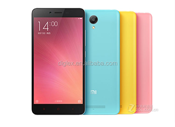 Xiaomi Hongmi Note 2 Redmi Note 2 4G Lte Smartphone Android Cell Phone 5.5inch Mtk 6795 Octa Core 16GB/32GB 13MP Multilanguage