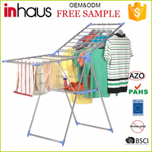 Hot Sale Balcony Stainless Steel Folding Cloth Dryer With Shoe Rack