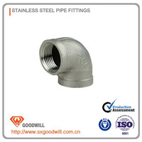 bsp and bsp thread Stainless Steel 304 Pipe Fittings Elbow