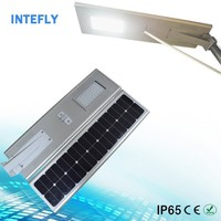 pole optional solar motion sensor led integrated all in one bridgelux led street light integrated
