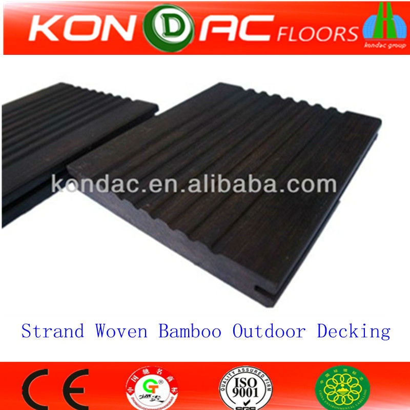 Bamboo outdoor floor strand woven boards decking buy for Bamboo flooring outdoor decking