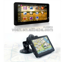 5 inch Car GPS Navigator Windows CE 6.0 FM AV-IN BT with DVR VCAN0812
