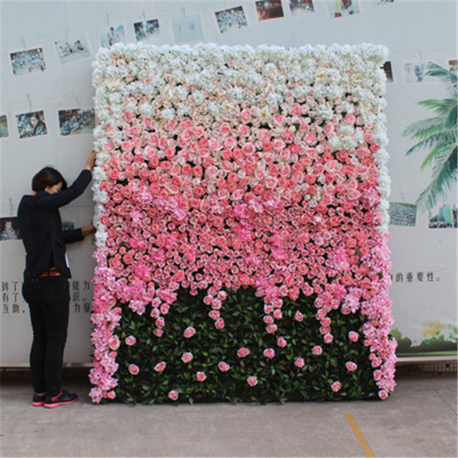 4*5ft new style wedding decoration artificial flower wall for weddings