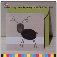 High quality cute cartoon birthday / greeting / christmas cards printing