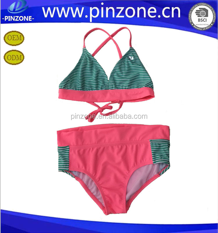 hot fashion girls sexy kids Fashion string bikini / little girls sexy bikini