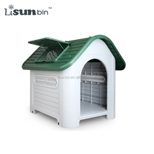 large dog house unique pet kennels plastic dog kennels green color