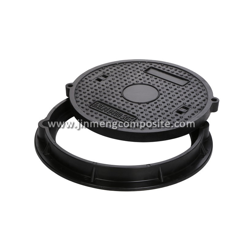 Sanitary sewer manhole cover fiberglass well cover design for Fiberglass well house