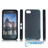 Mesh combo case For BlackBerry Z10 Mesh Combo Silicone Case