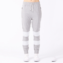 Latest style skinny sport joggers women in trousers and stockings