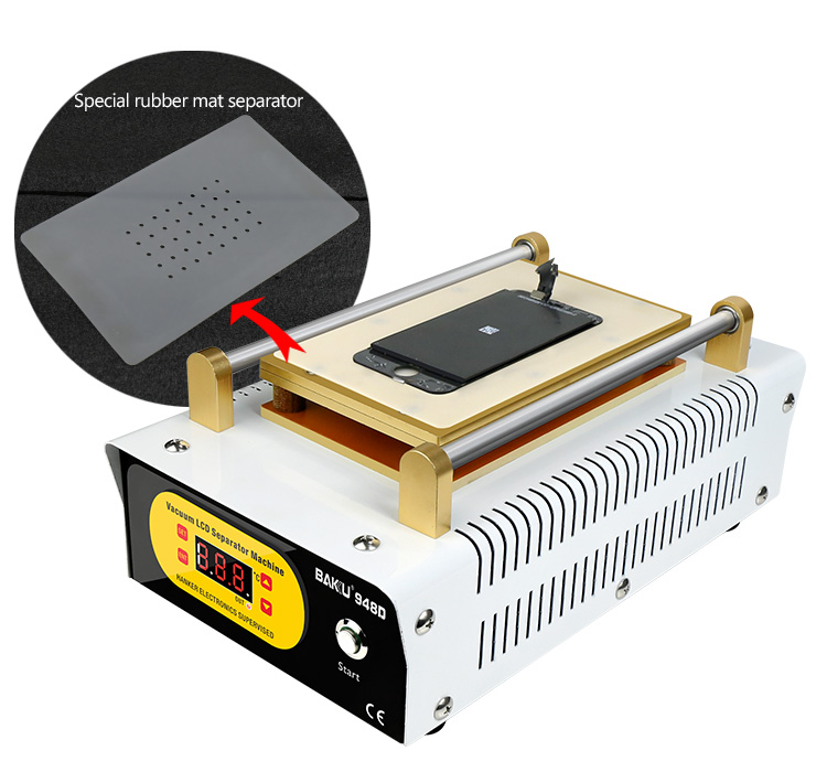 New design BK-948D Digital Display LCD Panel Repair Machine As Screen Separator