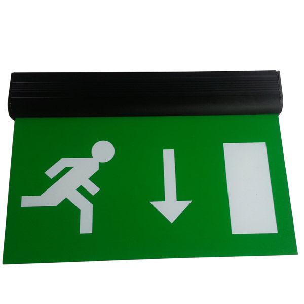 CE Approval maintained Ceiling Surface Suspended Led Emergency Exit Sign Light