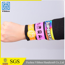 Factory Supply Waterproof Custom Made Cheap Silicone Ruler Slap Bracelet