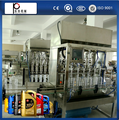 shanghai manufacture automatic engine oil filling machine,lubricant oil filler price