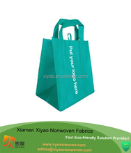 Large Reusable Grocery Shopping Non Woven Tote Custom Printed Resealable Bags