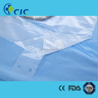 ETO sterilized nonwoven cesarean surgery kit from Cobes China