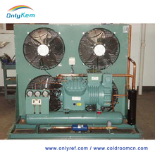 Good quality commerical refrigeration compressor condensing unit for cold warehouse