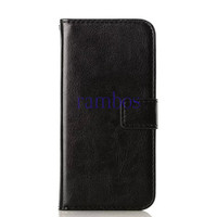 New Products Crazy Horse Flip Book PU Leather Wallet Case Cover for HTC One M4 M7 M8 M8 Mini Desire 310