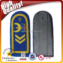 military uniform pilot customized embroidered gold fringe epaulettes