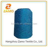 new product of 3mm polyester sequin knitting yarn
