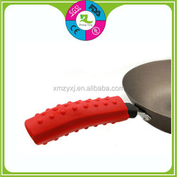 Food grade silicone pan handle covers cookware parts