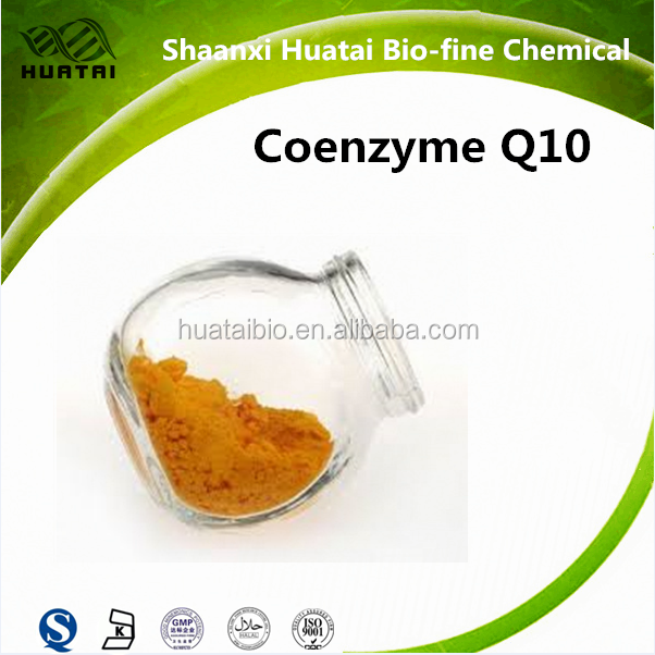 <Huatai Manufacture>Cas No. 303-98-0 HPLC 98% Anti-aging Ubiquinone Coenzyme Q10 for sale