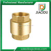 1/2 3/4 1 11/4 11/2 2inch female thread top selling high qulitly manufacture polished forged brass check valve for water