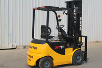 SHANTUI 2.5Ton 48 V battery operated forklift with CE