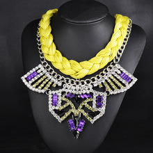Luxury statement necklace fashion wholesale jewelry 2015