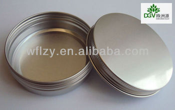 Mini tin can/aluminium tin can for tealight candles
