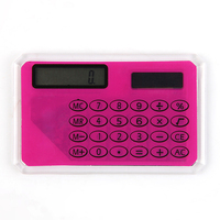 INTERWELL CR35 Promotional Calculator, Mini Credit Card Size Pocket Calculator