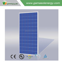 Gama Solar China new tech poly 300w solar panel for camping camper home