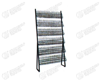 CD shelf rackinformation shelfmodern CD racksingle side mesh CD rack