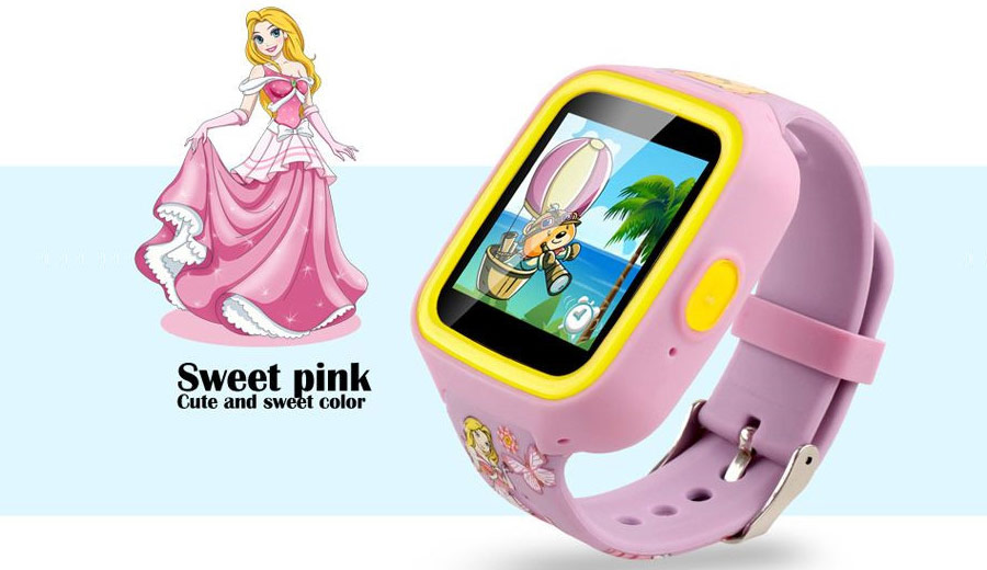 Latest GPS childrens wrist watch mobile phone