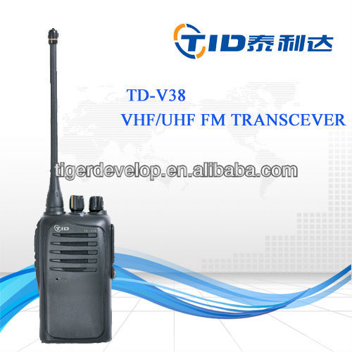 Td-v36 16channels portable uhf channel scan durable and tough professional radio