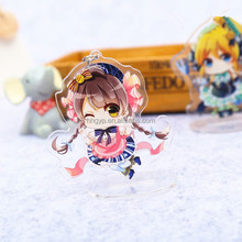 cartoon acrylic board keychain/keyring