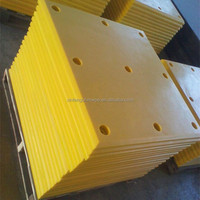 XinFeng UHMEPE jetty fender pad/ hard wear UHMWPE plastic sheet/ sliding pad