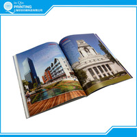 Film lamination custom colorful soft cover book printing in Shanghai