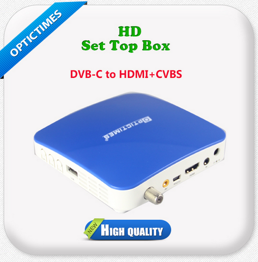 Digital cable HD/SD TV dvb t2 cable set-top box mpeg4 and mpeg2 price