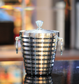 1L stainless steel metal ice bucket for wine