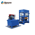 New product QT4-40 diesel-type concrete hollow block making machine for sale in Tanzania
