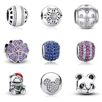 PAS 925 Sterling Silver Different kinds of Jewelry DIY Accessories