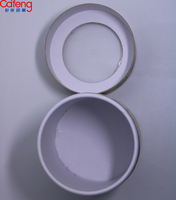 China supplier Round paper packaging new products strong transparent pvc hole lid paper tube for Cotton swabs