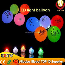 2016 newest design party decoration alibaba express top ten supplier luminous neon flashing led balloon light/led balloon
