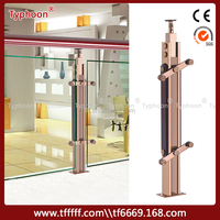 Typhoon Indoor Metal Railings Balcony Railing Designs S.S.304 Stainless Steel Railing