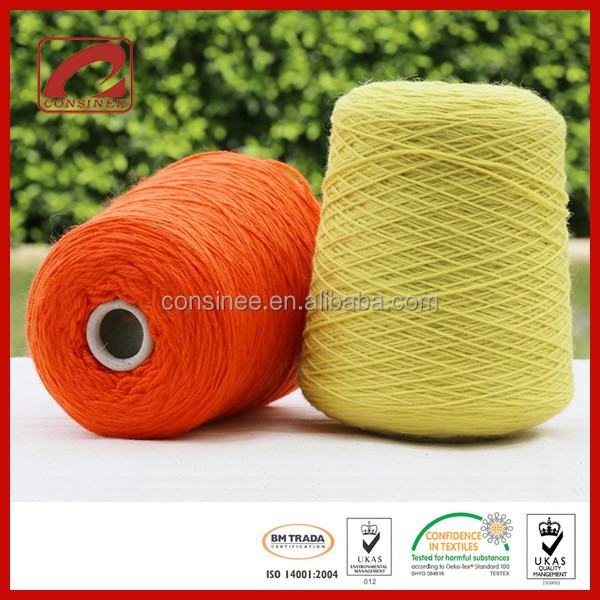 Blended Mohair Wool thick yarn for knitting carpet