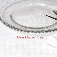 Glass Charger Plates Wholesale Dinner Plate Wedding