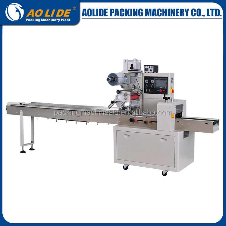 Full Automatic feeding plastic bag Square Soap Packaging Machinery -round soap packing machine ALD-350