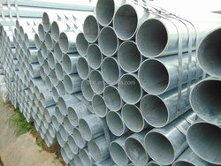 Top quality welded galvanized steel pipe