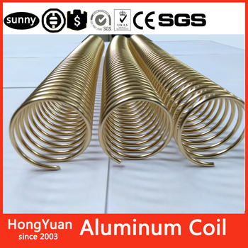 Large inventory Aluminum Coil, Color Coated Aluminum Coil Binding Coil