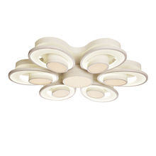 commercial lighting fixtures modern acrylic flower led ceiling lamp